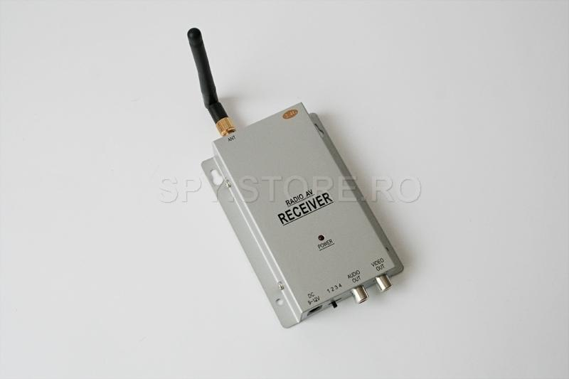 Set camera wireless si receptor