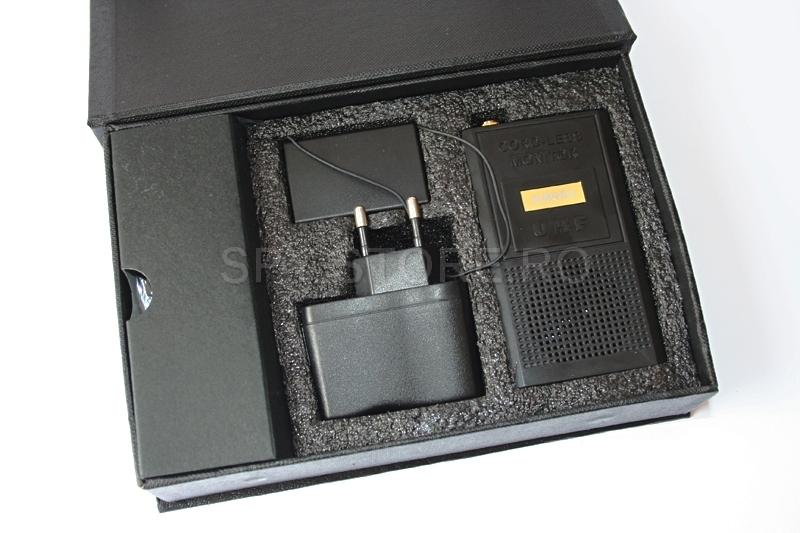Set profesional audio emitator-receptor