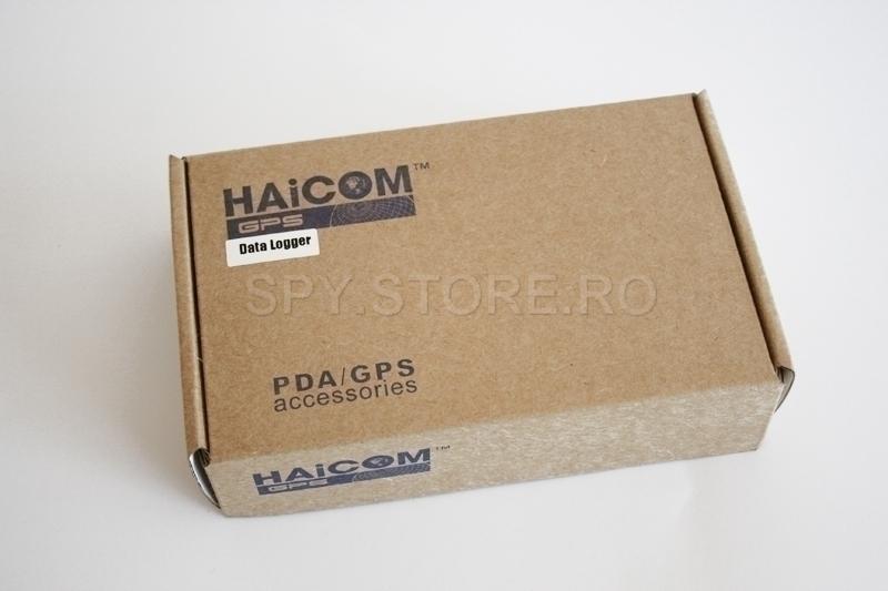 Sistem pentru inregistrarea datelor pentru GPS tracker Haicom HI-602DT