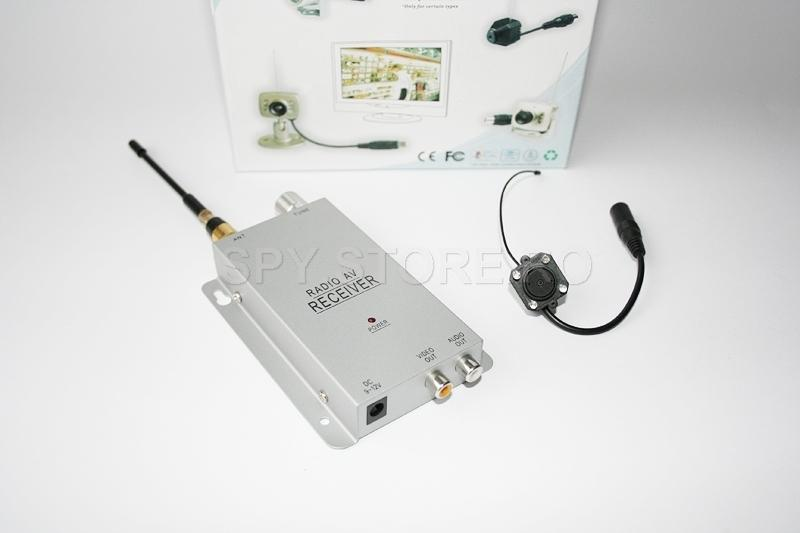 Camera wireless 1.2 GHz si receiver