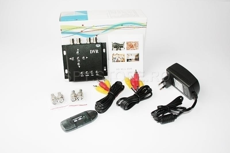 DVR pentru camere cu fir