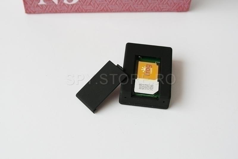 Spionaj: microfon spion GSM