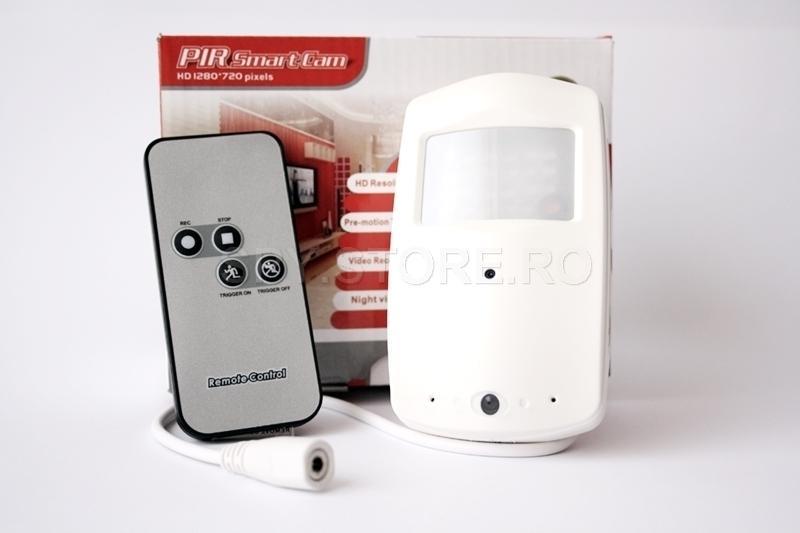 Camera ascunsa in senzor PIR
