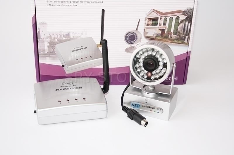 Kit camera wireless + emitator, receptor 2.4 GHz