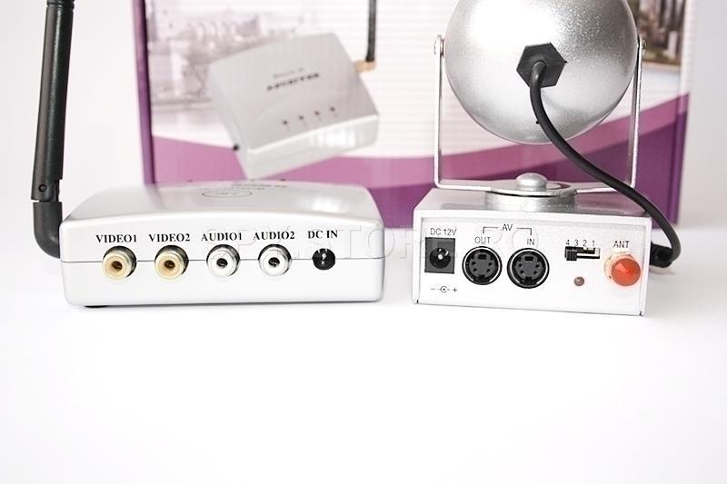 Kit camera wireless + emitator, receptor 2.4 GHz