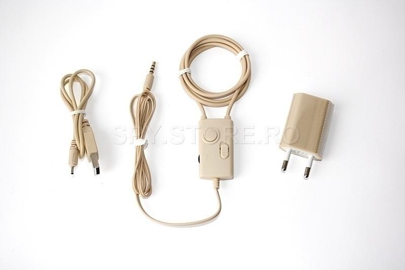 Colier cu audio amplificator