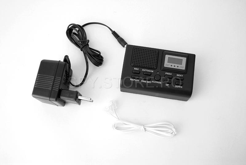 Recorder audio digital pentru telefonie fixa