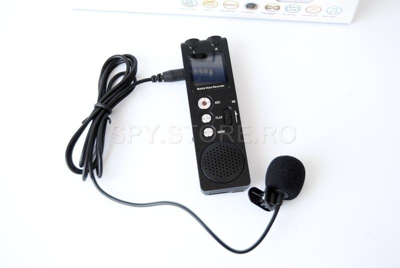 Reportofon Bluetooth cu reducere activa a zgomotului