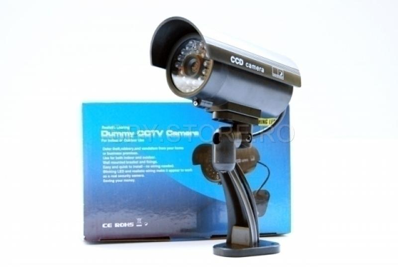 Camera de supraveghere    CCTV falsa cu led
