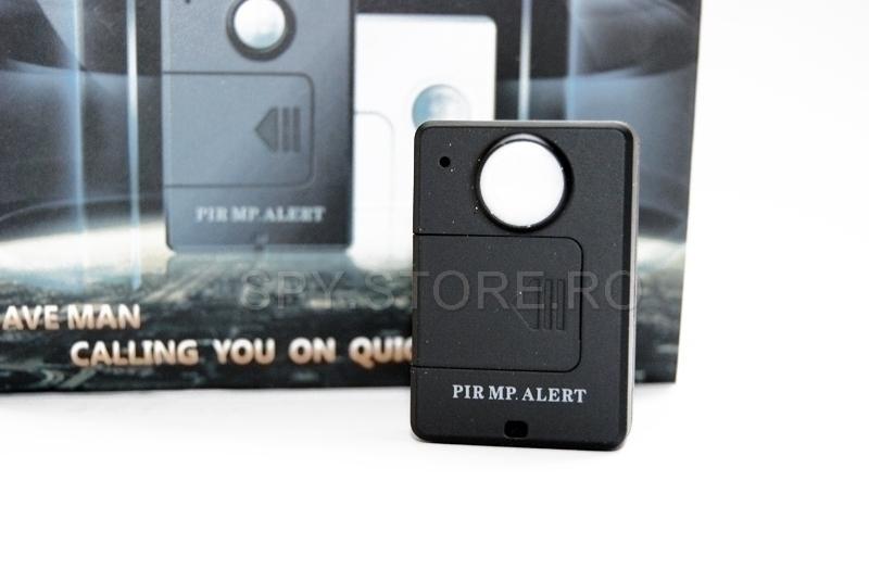 Microfon spion cu senzor PIR
