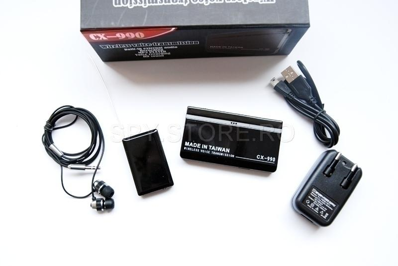 Microfon cu MP3 player