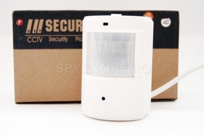 Camera camuflata in senzor PIR