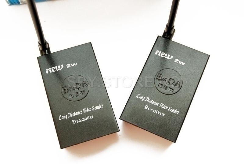 Receptor si emitator wireless de semnale AV - puternice 2 W