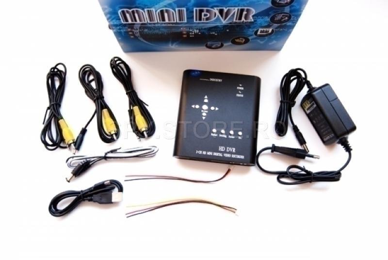Receiver doua canale pentru camere cu cablu