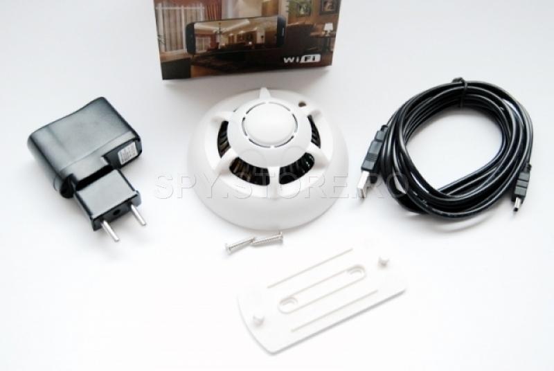 Camera Wi-Fi camuflata in senzor de fum