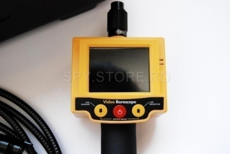 Video-endoscop cu monitor si tub de 3 metri