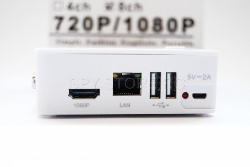 Mini HD NVR pentri camere IP 4 canale