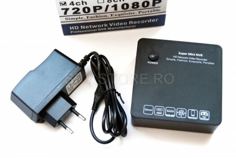 Mini HD NVR patru canale