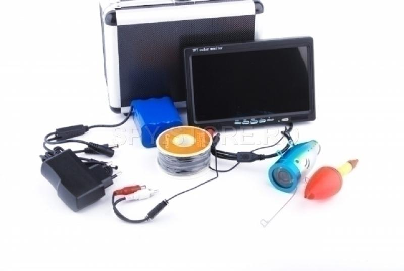 Scanner de pescuit cu monitor