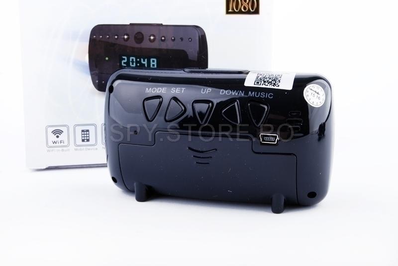 Camera IP camuflata in ceas.
