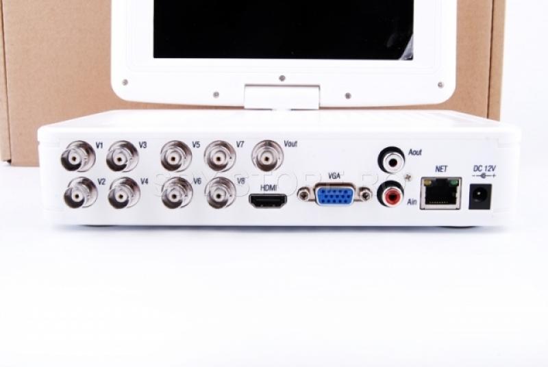 DRV 8 canale si monitor 7inchi