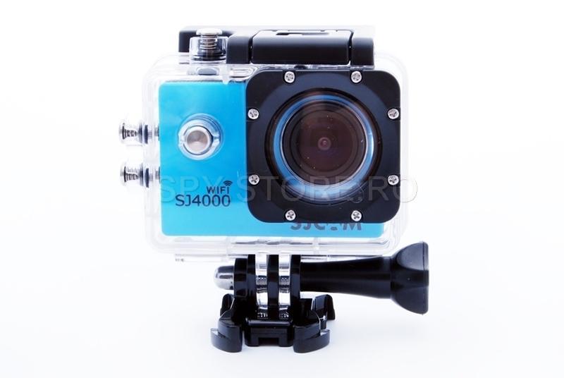 Camera de actiune SJCAM SJ4000 WIFI - albastra
