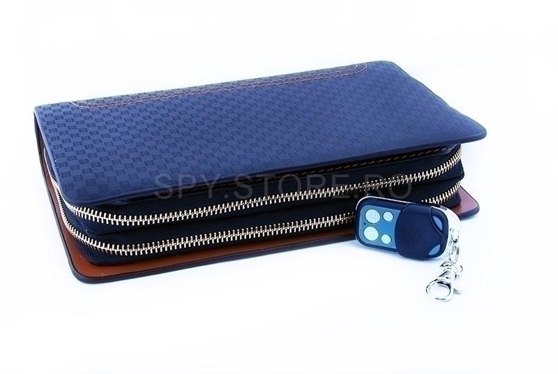 Borseta-portofel cu camera asunsa - memorie 8GB