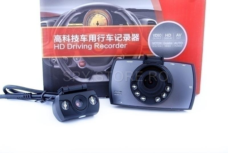 Videoregistrator cu doua camere