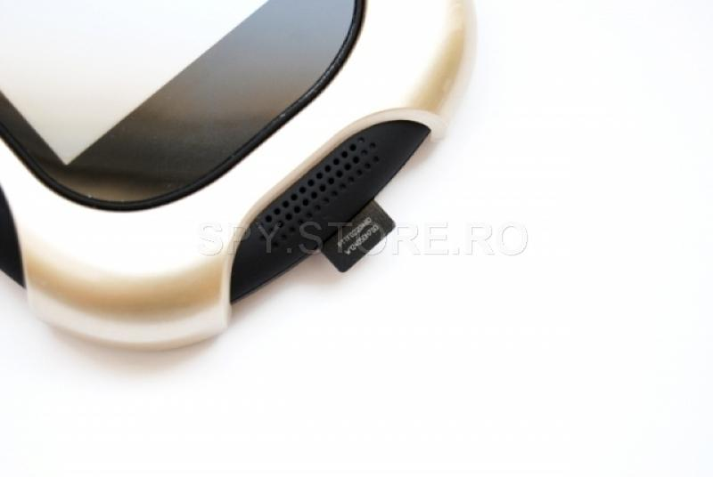 Camera camuflata in vizor cu senzor de miscare si touchscreen