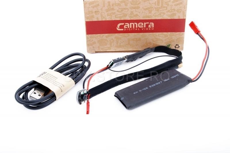 Camera IP incorporabila cu IR