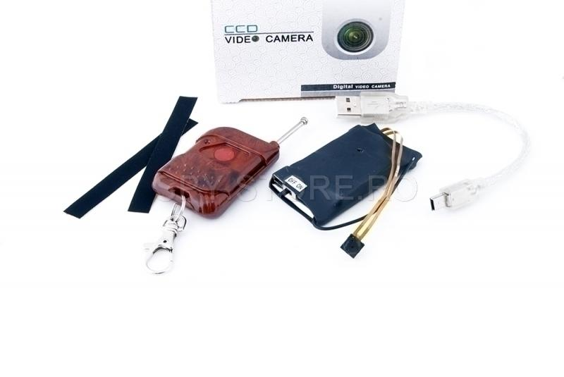Mini camera incorporabila
