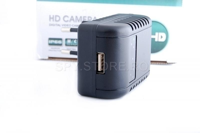 Camera IP camuflata in adaptor
