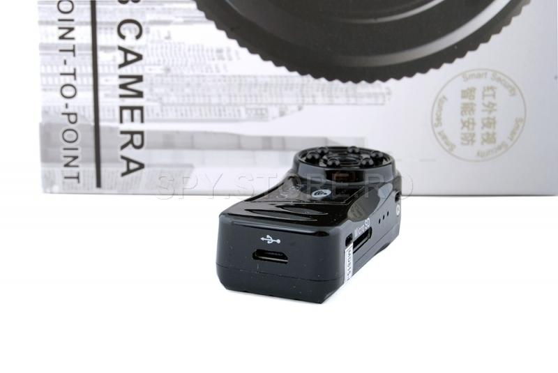 Camera mini IP cu leduri