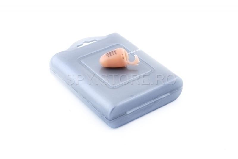 Microcasca culoarea pielii si bluetooth receiver