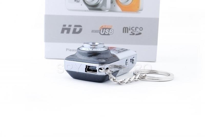 Mini aparat foto cu senzor de miscare