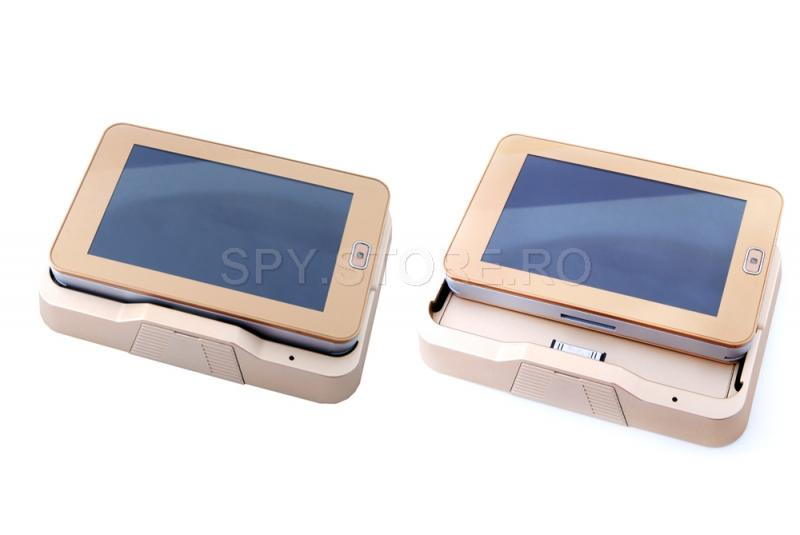 Vizor de usa cu camera video Android cu GSM modul