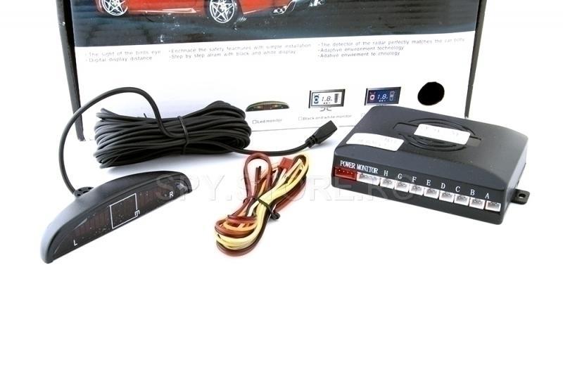 Senzori de parcare cu ecran color