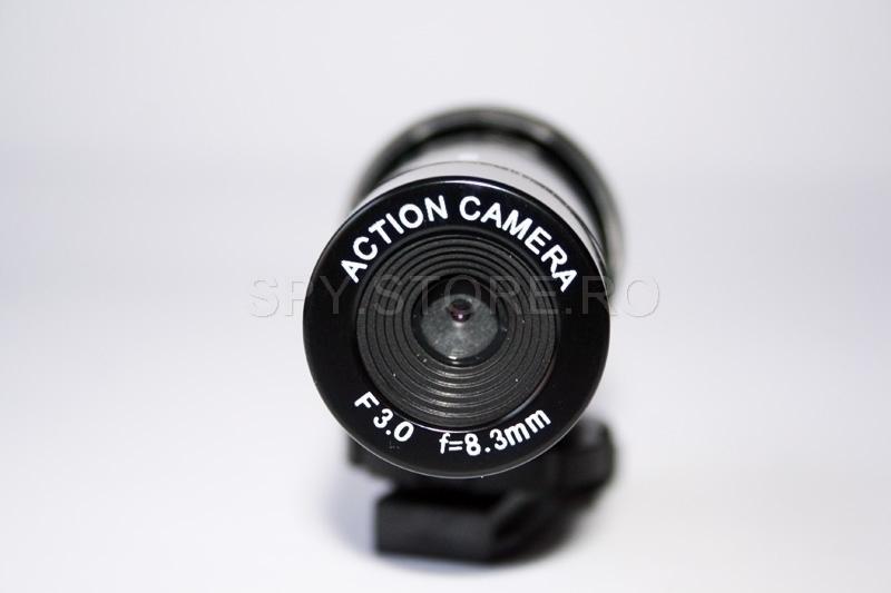 Camera video sport - rezistenta la apa
