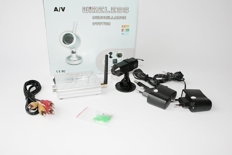 Set camera wireless 2.4 GHz si receptor