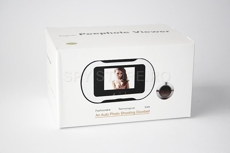 Camera supraveghere video tip vizor pentru usa