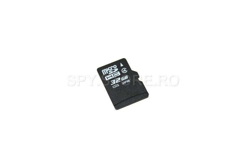 Card microSD, cu capacitatea de 32 GB