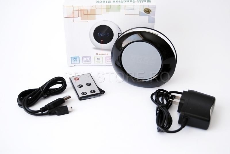 Ceas de birou electronic cu camera