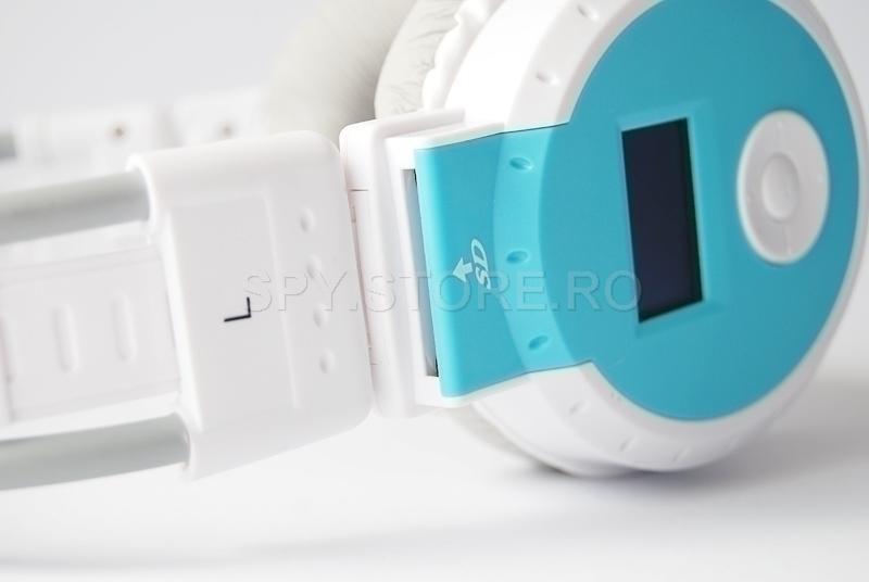 Casti cu radiou si MP3 Player