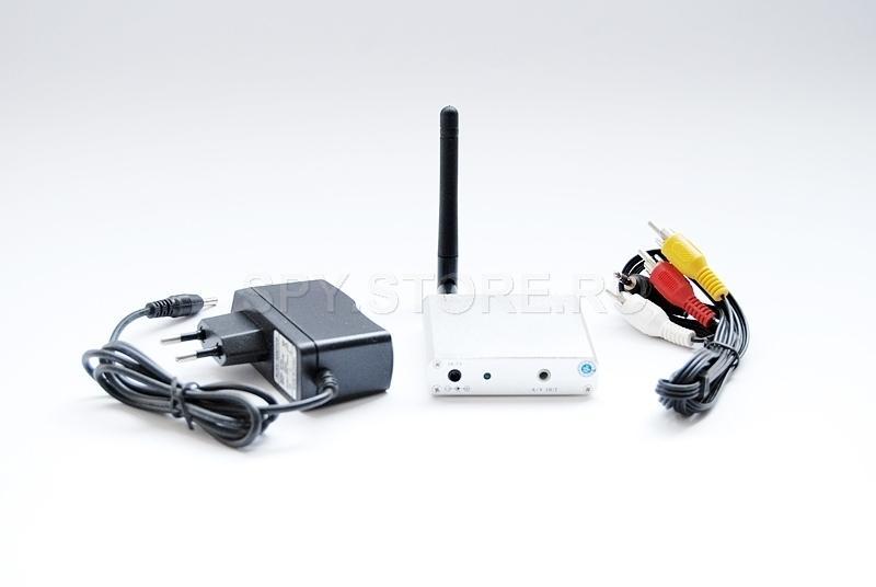 Receptor pentru camere wireless 2.3/2.4 GHz