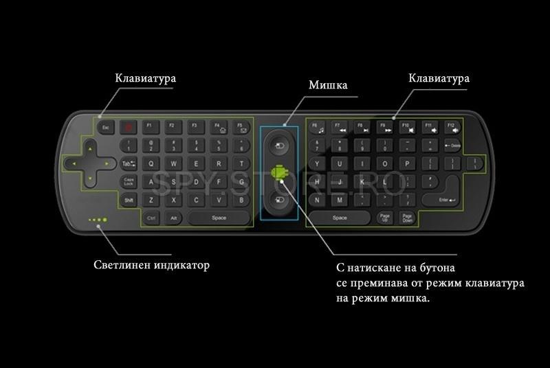 Mini tastatura wireless RC11