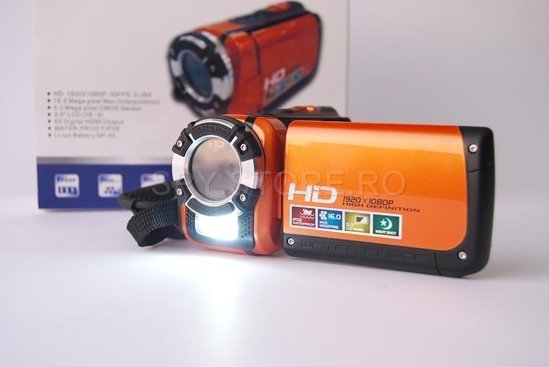 Camera HD pentru filmare subacvatica