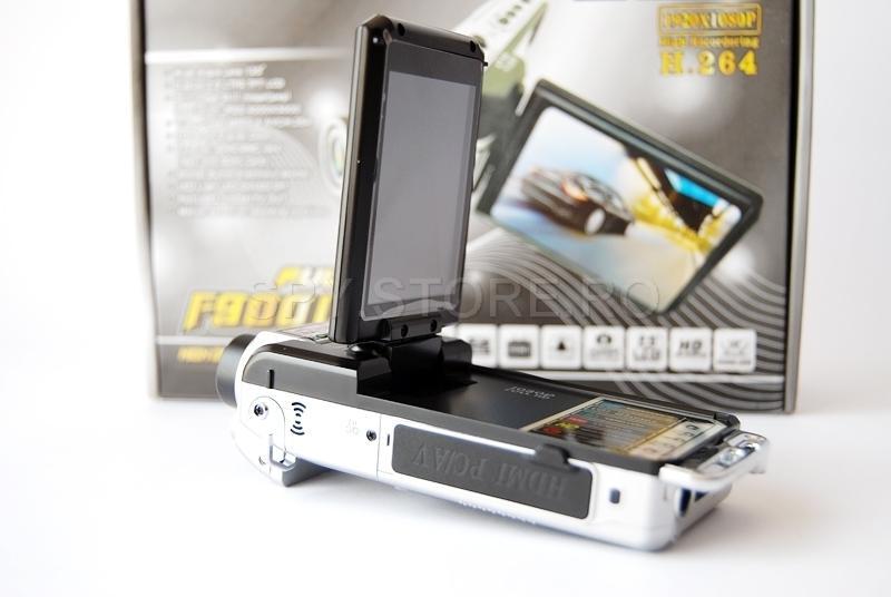 Camera video Full HD cu ecran de 2.5 ich