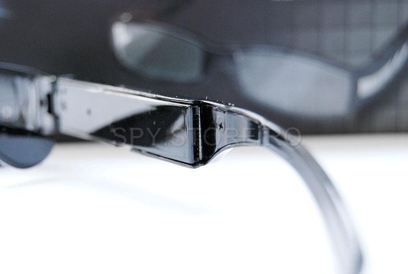 Camera HD camuflata in ochelari cu lentila transparenta