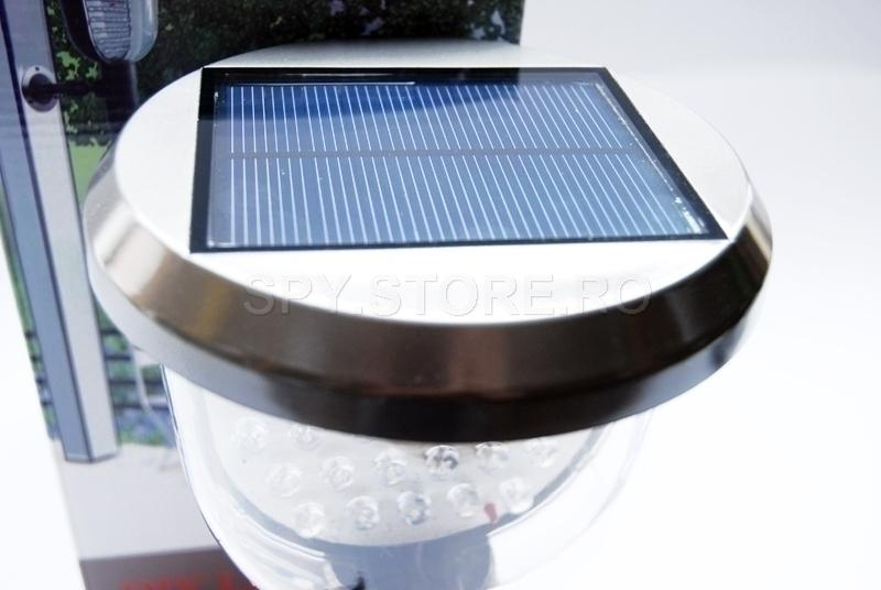 Camera solara cu senzor de miscare