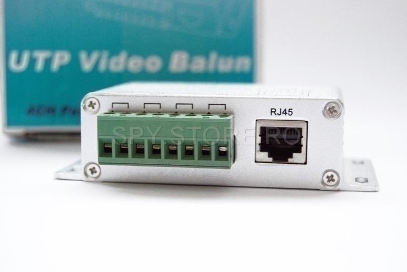 Video balun - 4 canale -U204